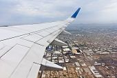 A View Of Phoenix, Arizona, From A Passenger Jet