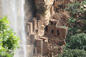 pic of dogon  - Old Dogon buildings in Dogonland - JPG