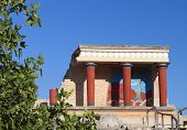 stock photo of minotaur  - Knossos palace at Crete Greece Knossos Palace is the largest Bronze Age 