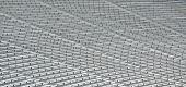 stock photo of bleachers  - Stadium bleacher seats at a college football field Georgia - JPG