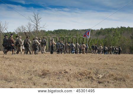 Confederate Skirmish Line