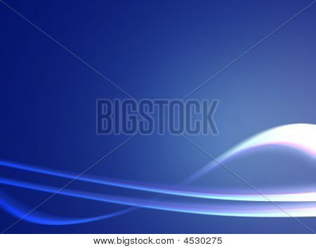 Blue Background Waves