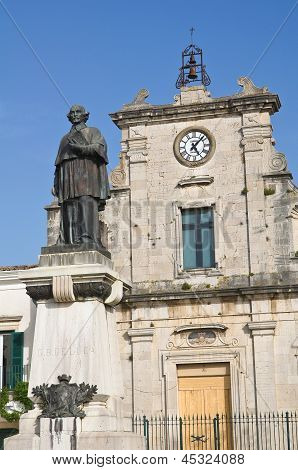 Church of Purgatory. Venosa. Basilicata. Italy.