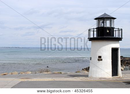 Lighthouse on Marginal Way, Ogunquit ME USA