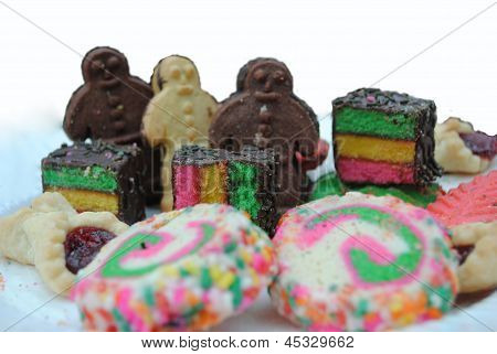 Colorful Variety of Cookies