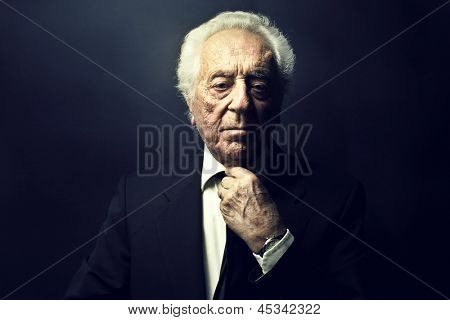 portrait of charismatic boss