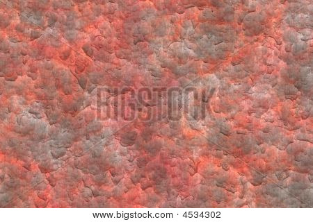 Rusted Metal Plate Abstract Background
