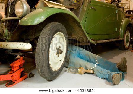 Repair Of A Vintage Car
