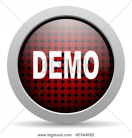 demo glossy icon