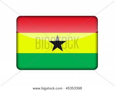 The Ghana flag