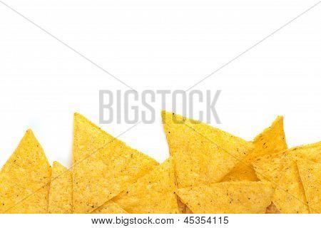 batatas fritas de pacote