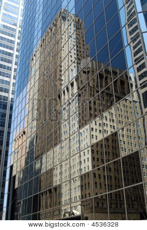 Downtown Chicago Reflection