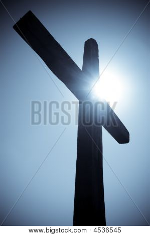 Cross Silhouete