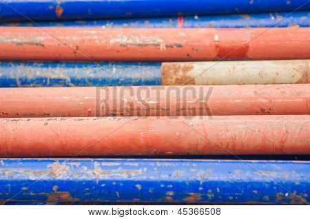 Old Iron Pipe Texture Background