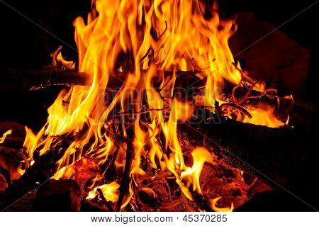 Fogueira ardente