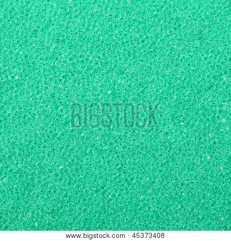 Green Texture Cellulose Foam Sponge Background