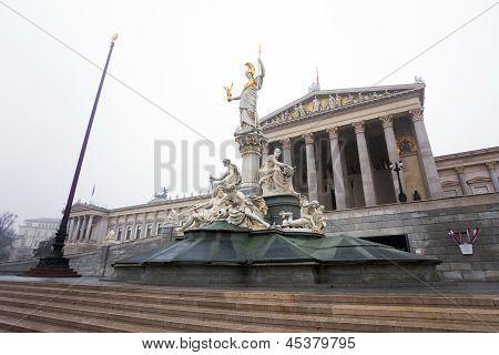 Austrian Parliament, Vienna, Austria