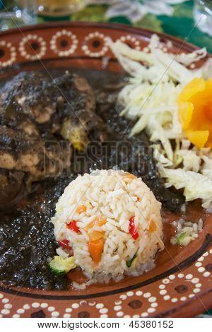 Mexican Mole De Huitlacoche