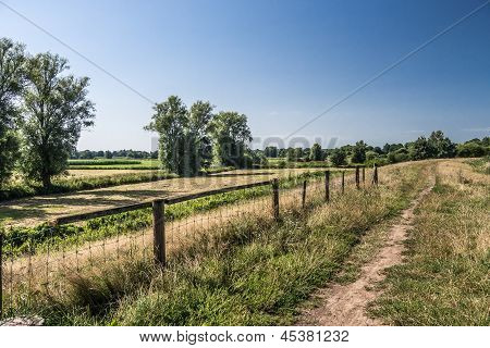 A Path On A Dike