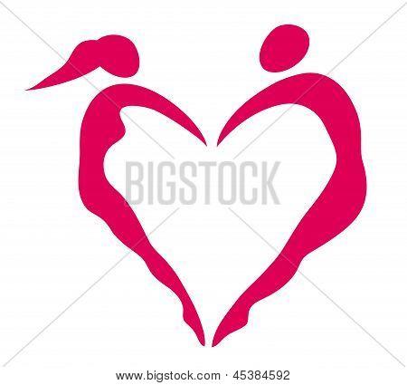 Heart of women and men