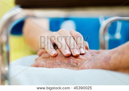 Care For Elderly In Wheelchair