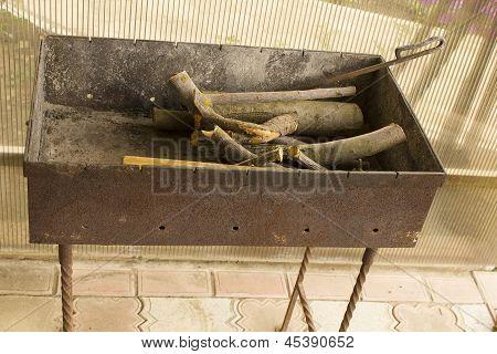 Brazier  Firewood