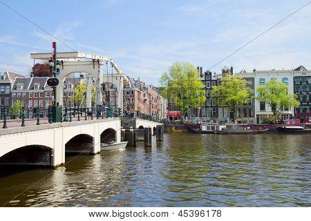 Magere bridge of  Amsterdam