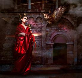 foto of sorcerer  - Mysticism - JPG
