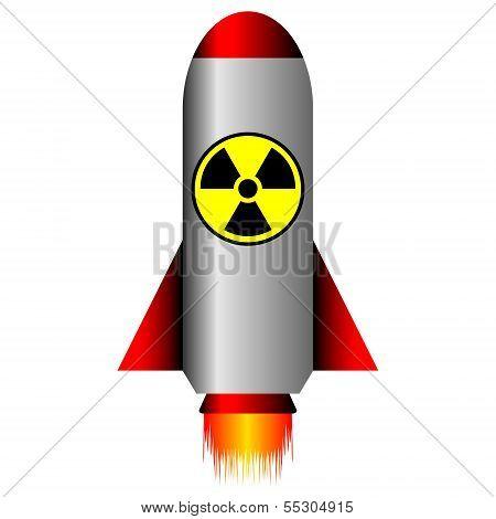 Nuclear Ballistic Rocket