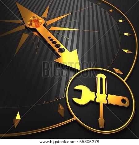 Service Concept on Golden Compass.