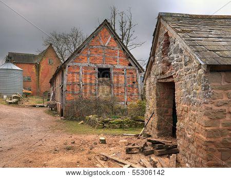Farm Buildings, England