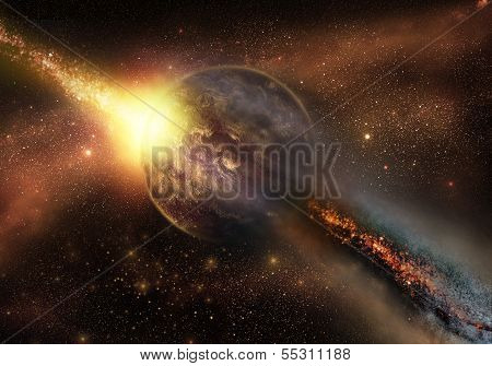 Space armageddon
