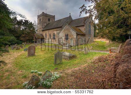 Shropshire Church