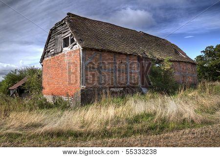 Ruined Barn, England