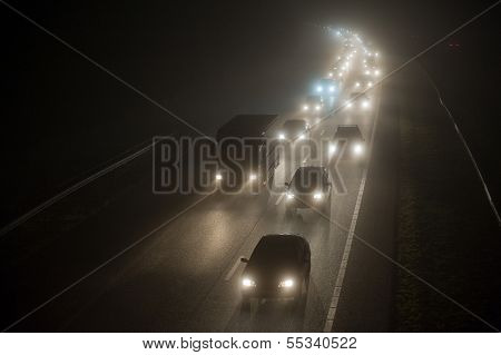 Convoy In The Mist