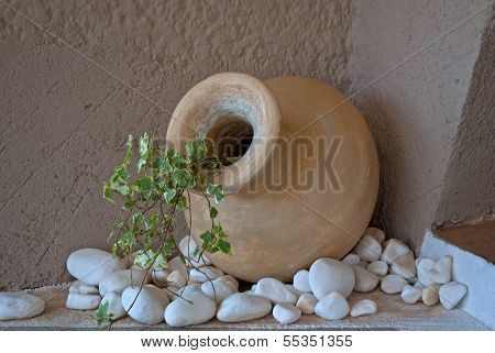 Old amphora.
