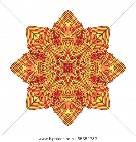 color circular pattern
