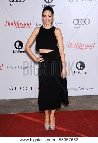 LOS ANGELES - DEC11:  Edy Ganem arrive to Women in Entertainment Breakfast 2013  on December 11, 2013 in Hollywood, CA