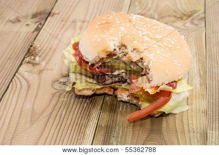Bitten Off Burger