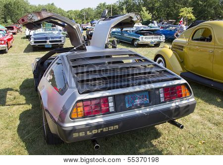 1981 Delorean Rear View