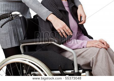 Disabled With Daughter