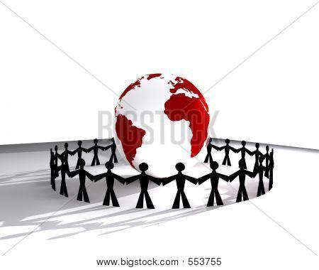 People Around Globe