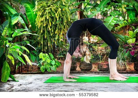 Yoga In The Garden