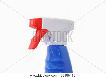 Pulverizer head on a white background.