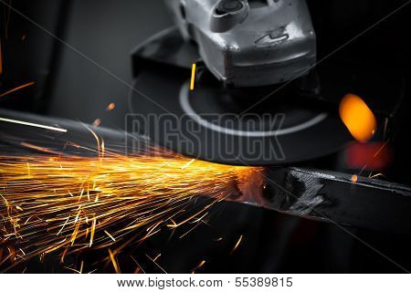 Electric Wheel Grinding