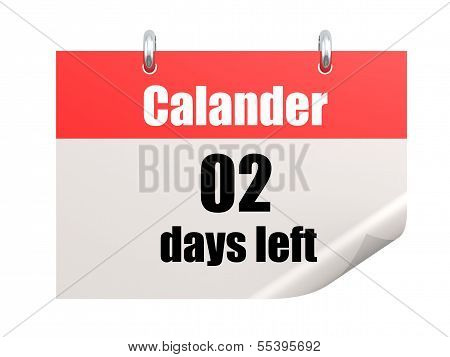 Calendar last 2 days