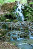 pic of crimea  - Waterfall Grand Canyon of Crimea Crimea Ukraine - JPG