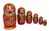 stock photo of doll  - Russian nested dolls - JPG