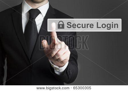 touchscreen secure login