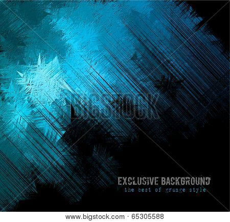 Abstract background for business card or brochures cover or high tech flyers.